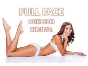 Full Face Laser Hair Removal Boston